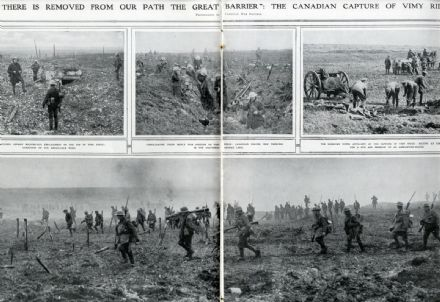 1917 ILLUSTRATED LONDON NEWS WW1 CANADIANS CAPTURE VIMY RIDGE Somme (0704)
